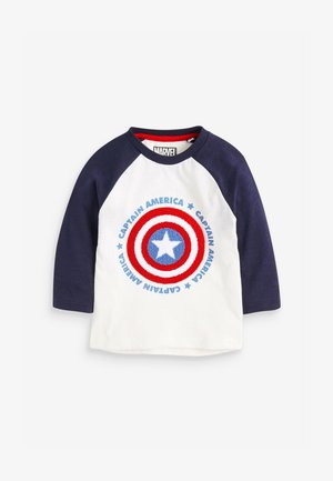 CAPTAIN AMERICA  - T-shirt à manches longues - white