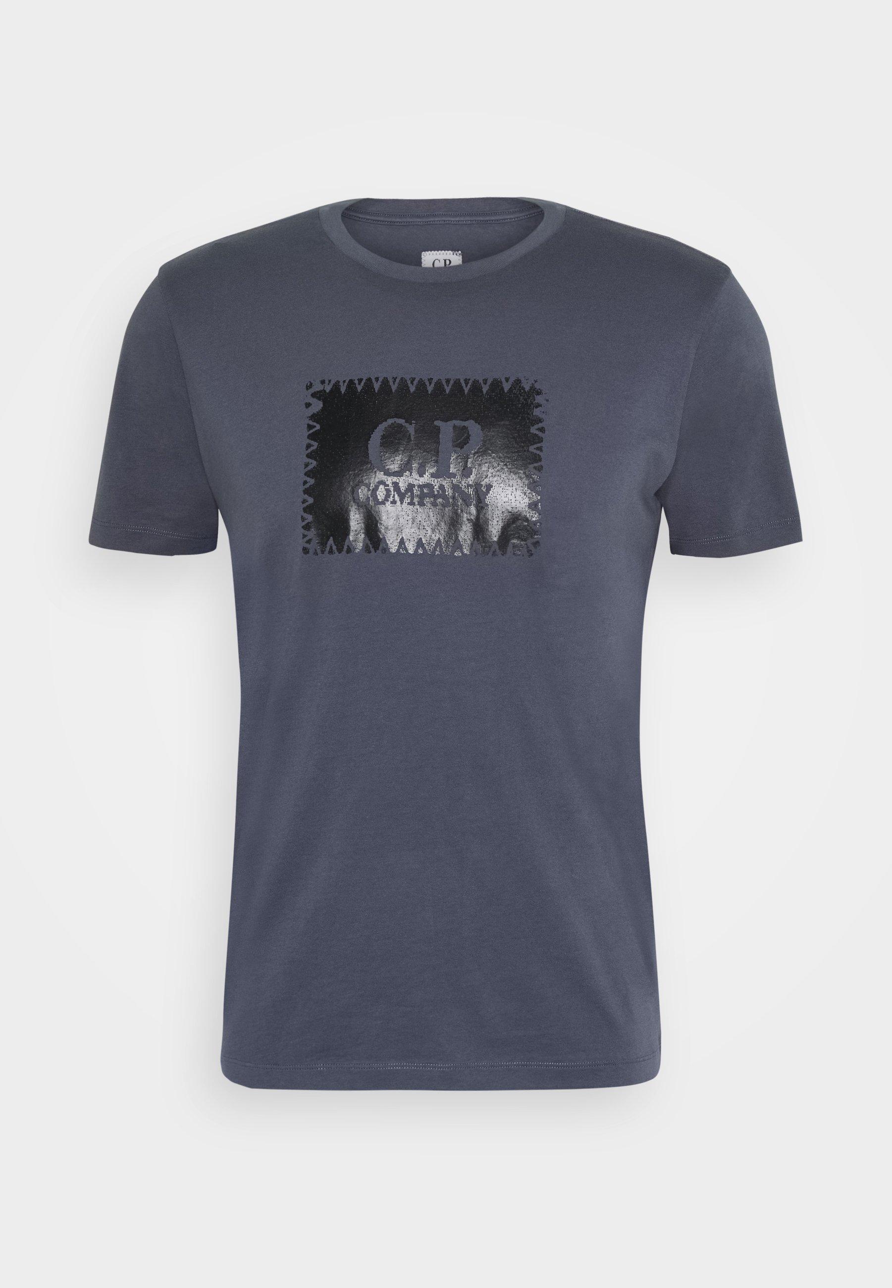 C.p. Company Short Sleeve - T-shirt Print Gauze White
