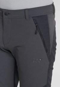 Jack Wolfskin - DRAKE FLEX PANTS - Outdoor trousers - phantom - 3