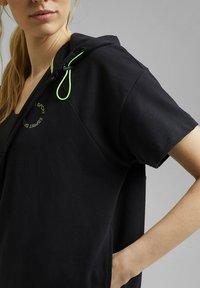 Esprit Sports - Zip-up sweatshirt - black - 5