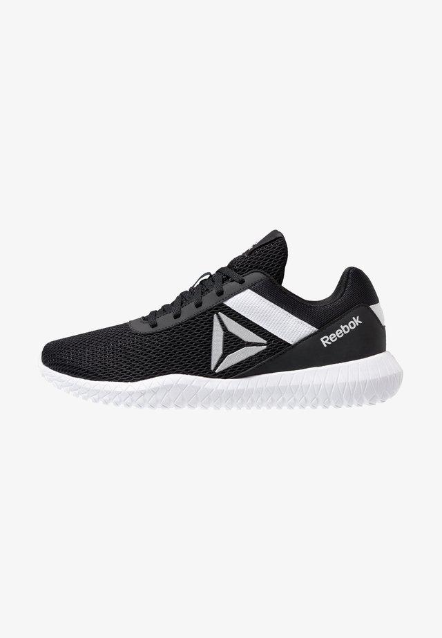FLEXAGON ENERGY PERFORMANCE SHOES - Sports shoes - black/white/silver metallic