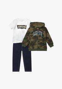 Levi's® - COLLEGIATESET - Hoodie met rits - thyme - 4
