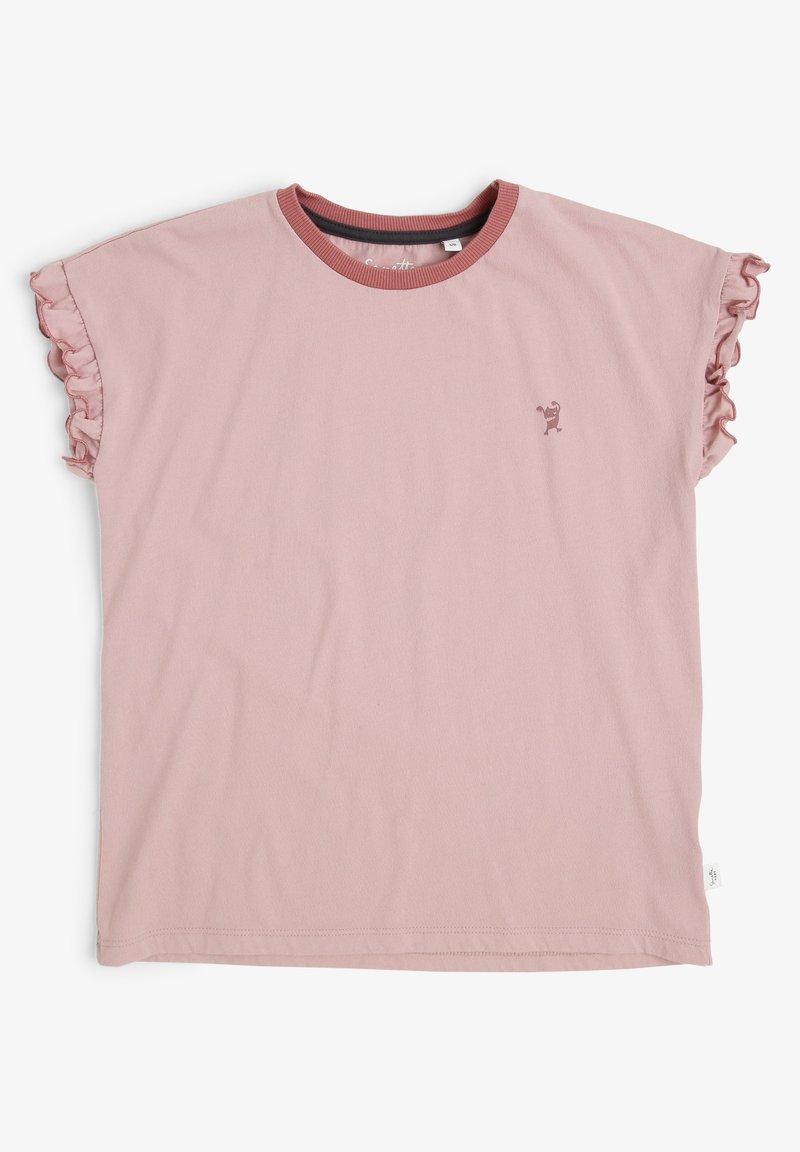 Sanetta - Basic T-shirt - rosa