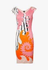 Just Cavalli - Pouzdrové šaty - pink variant - 4