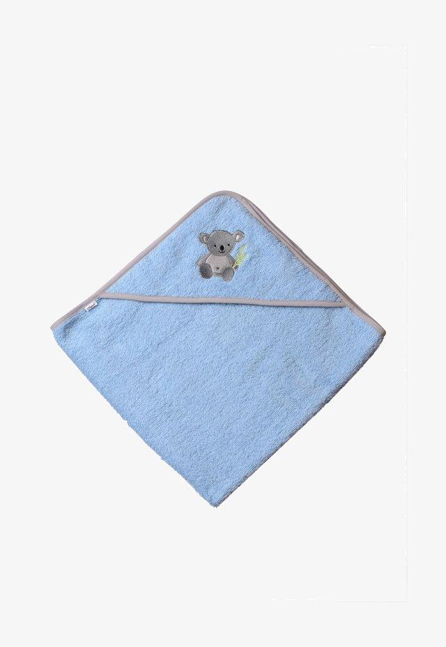 KAPUZEN - Bath towel - hellblau/grau