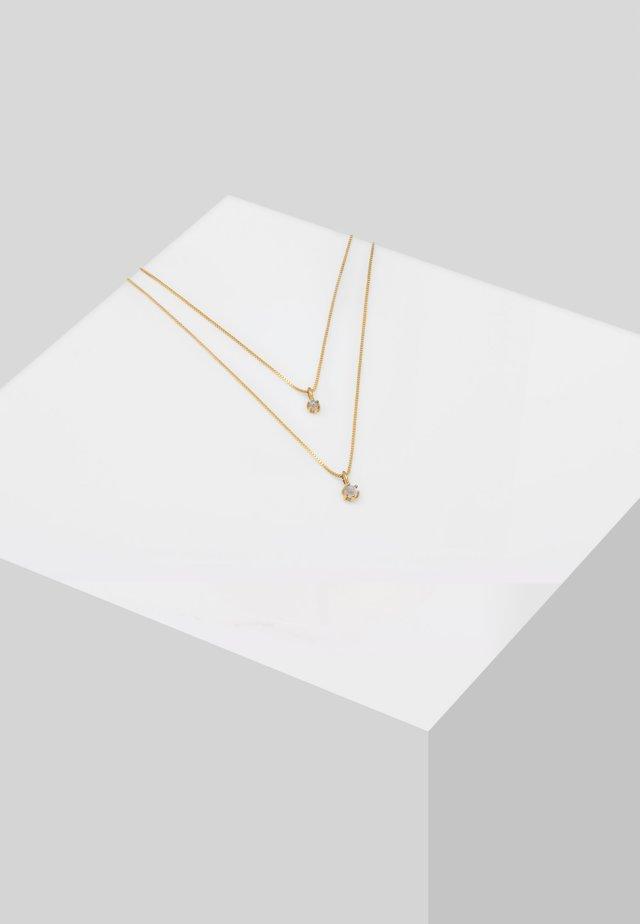 LAYER   - Collana - gold-coloured