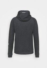 Icepeak - MORLEY - Zip-up hoodie - lead grey - 1