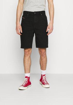 D-STRUKT-SHORT - Denim shorts - washed black