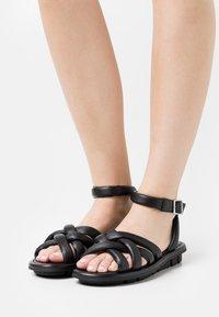 Oa non fashion - Sandals - nero - 0