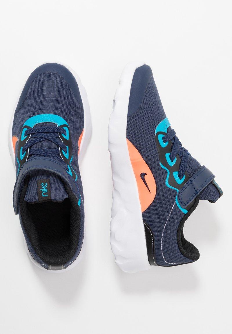 Nike Sportswear - EXPLORE STRADA - Sneakers basse - midnight navy/lemon/black/anthracite