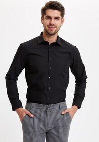 DeFacto - Formal shirt - black - 4