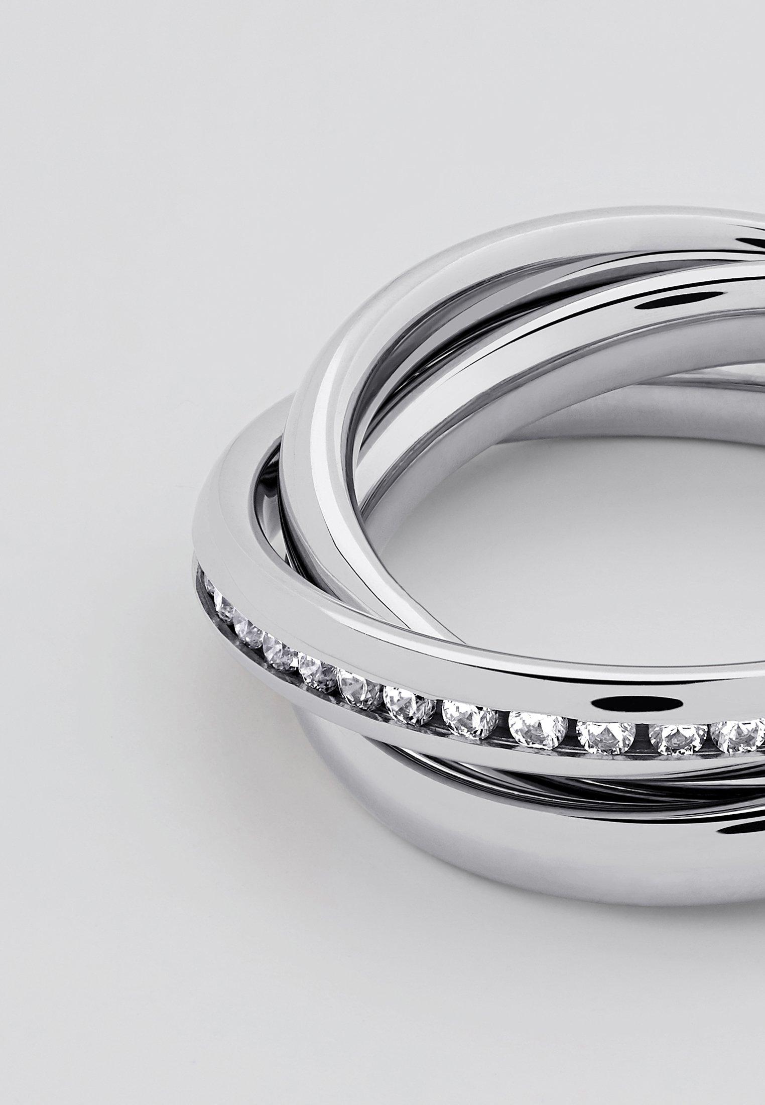Heideman MIT STEIN WEISS - Sormus - silver-coloured - Naisten asusteet T0VKO
