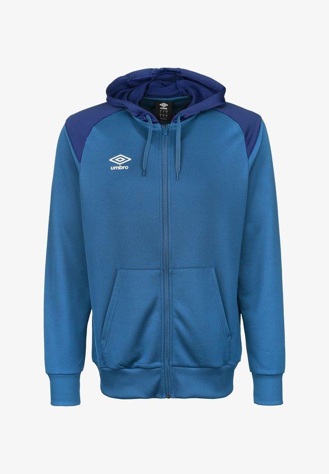 Zip-up hoodie - ibiza blue / tw royal