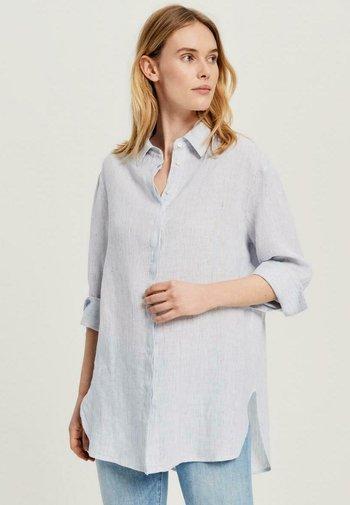 FYTHON - Button-down blouse - blue