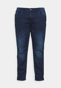 Blend - TWISTER FIT - Straight leg jeans - denim dark blue - 3