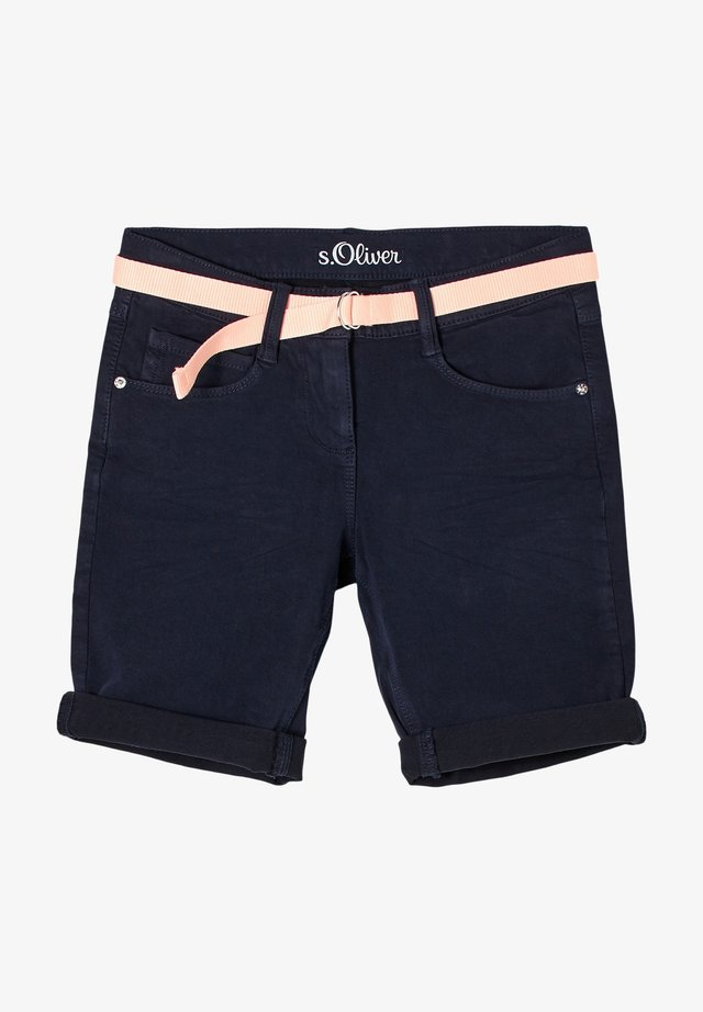 REGULAR FIT - Shorts - navy