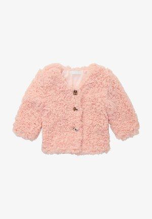 Winter jacket - rose smoke