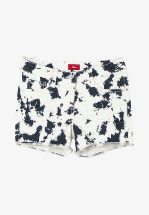 Denim shorts - blue aop