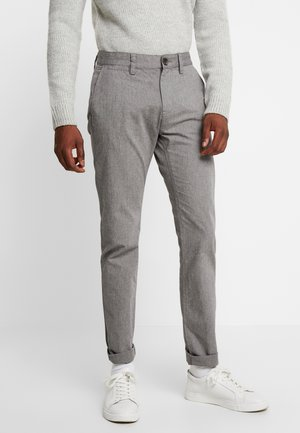 WASHED STRUCTURE - Pantaloni - grey