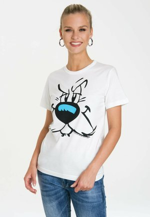 IDEFIX  - Print T-shirt - altweiss