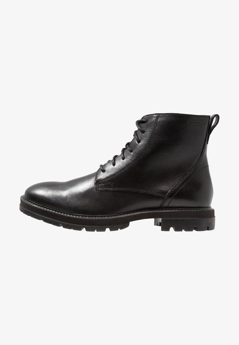 Vagabond - JOHNNY - Lace-up ankle boots - black