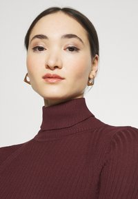 ONLY - ONLELLY ROLLNECK - Jumper - tawny port - 4