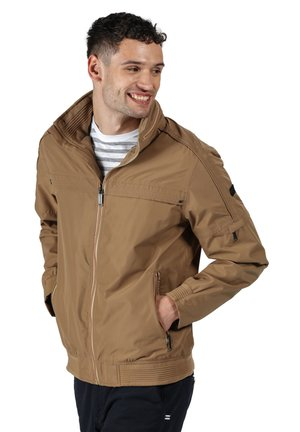 MONTEL - Outdoor jacket - dark camel