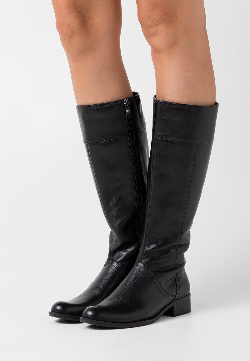 Caprice - BOOTS - Vysoká obuv - black