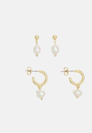 EARRING SET 2 PACK - Earrings - gold-coloured