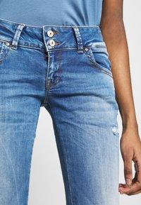 LTB - MOLLY - Slim fit jeans - ritnoblue x wash - 3