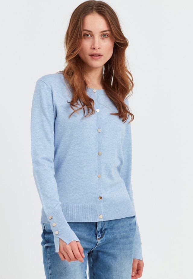 PZSARA  - Cardigan - brunnera blue melange