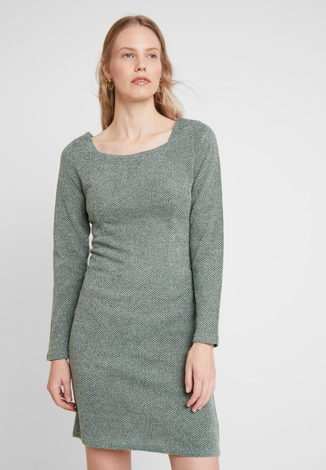 KASOFIA DRESS - Shift dress - dusty jade
