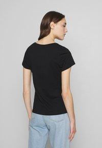Calvin Klein Jeans - SLIM 2 PACK - Print T-shirt - black - 2
