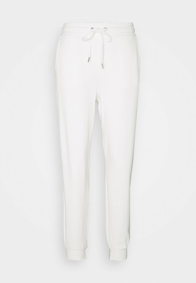 TROUSERS - Pantalones deportivos - light dusty white