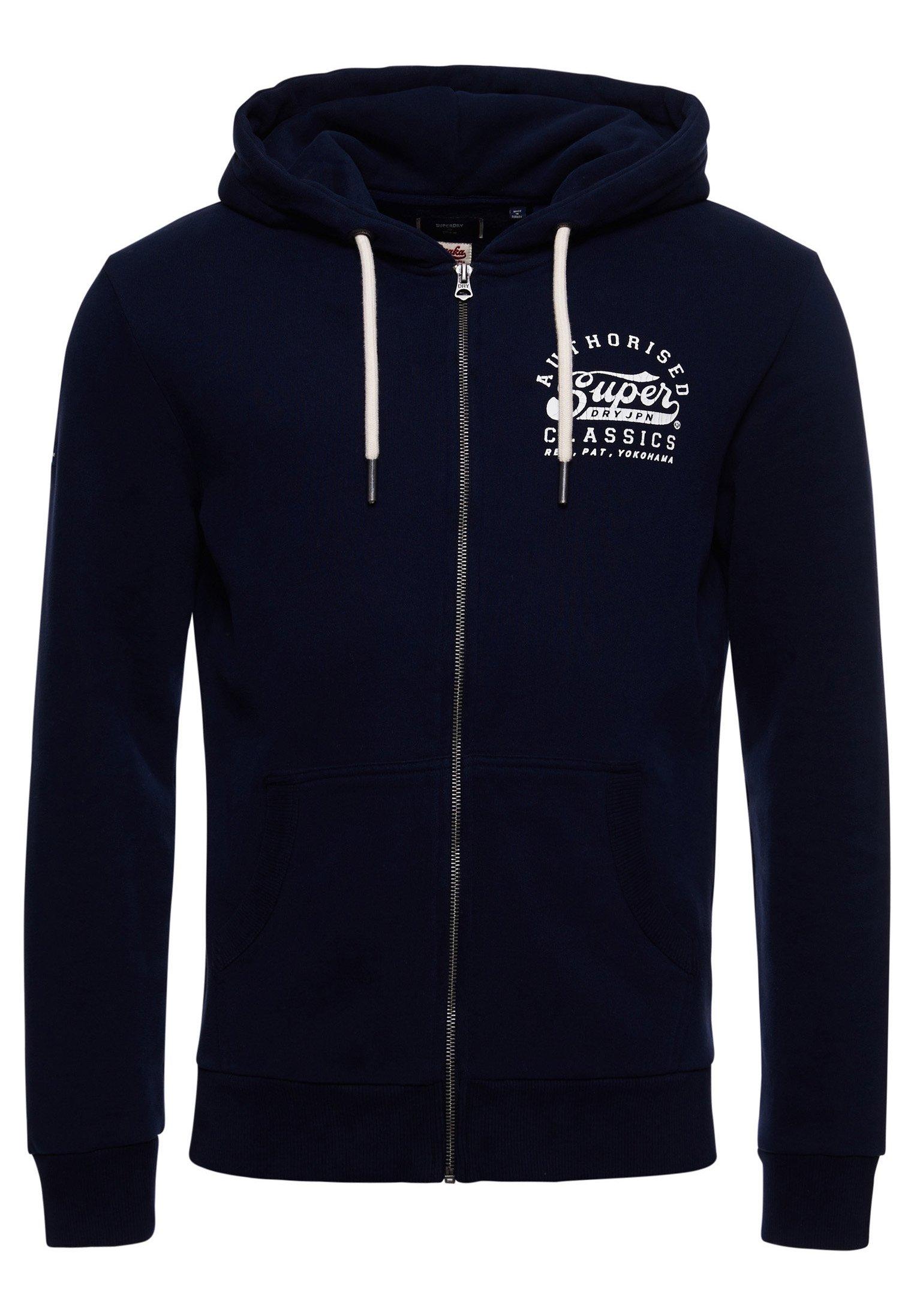 Men SCRIPT STYLE COLLEGE - Zip-up sweatshirt