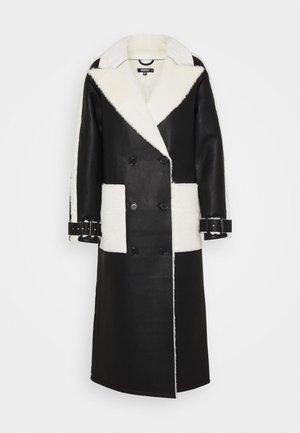 MAXI BONDED - Manteau classique - black