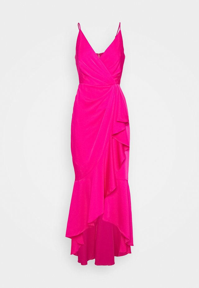 EVE LONG DRESS - Galajurk - open pink
