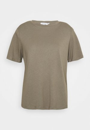 STRONG SHOULDER TEE - Basic T-shirt - brindle