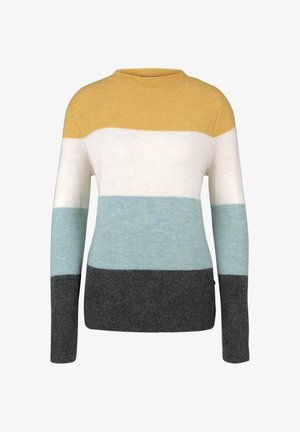 MIT STEHKRAGEN - Jumper - mint colourblock