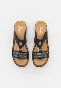 Rieker - Pantofle - blau - 4