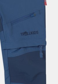 TrollKids - NORDFJORD ZIP-OFF 2-IN-1 UNISEX - Outdoorové kalhoty - midnight blue - 3