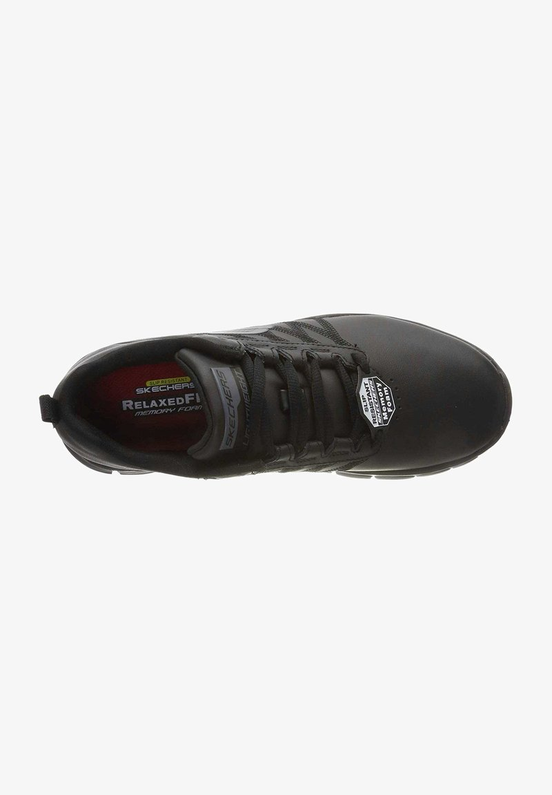 Skechers - WORK SURE TRACK - Sneakers laag - black