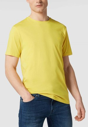 T-shirt basic - hellgelb
