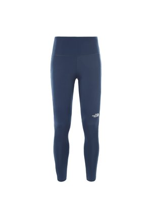 Tights - motted blue