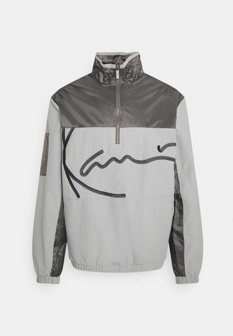 Karl Kani - SIGNATURE BLOCK - Training jacket - grey