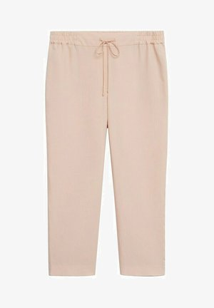 Trousers - rose pastel