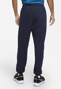 Nike Performance - DF STD ISSUE - Tracksuit bottoms - college navy/pale ivory - 2