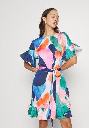Sukienka letnia - blue multi