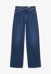 Marc O'Polo DENIM - Straight leg jeans - multi/clean cobalt dark blue - 4
