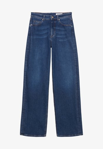 Straight leg jeans - multi/clean cobalt dark blue